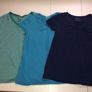 Motherhood Brand, 3 tees, size large